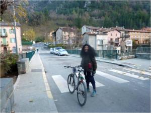 0 retour de Tende en vélo