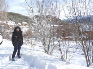 1 neige Barcelonnette 28 décembre 20