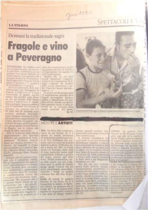 dos italie peinture La Stampa