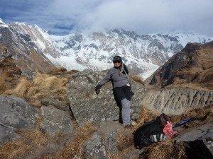 camp base annapurna 4130 m 28 dec